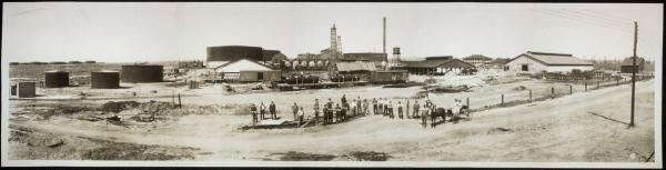 Union Oil Company at Bakersfield, CA 1910
